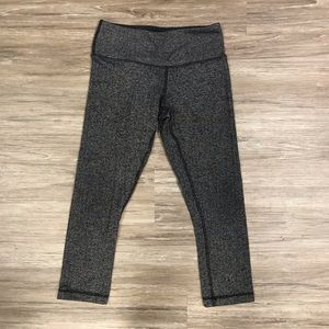Lululemon Wunder Under Herringbone Crop Size 2